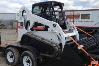 Bobcat T190 Compact Track Loader Sn 531616462 photo
