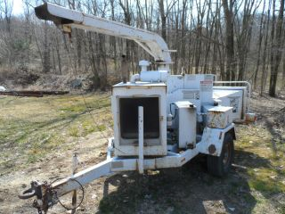 Brush Bandit 250 Wood Chipper Grinder Diesel 1400 Hours photo