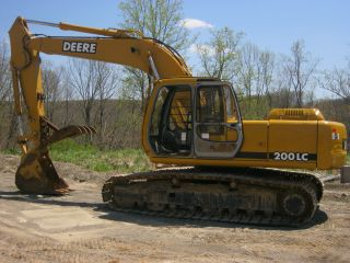 1996 John Deere 200lc Excavator photo