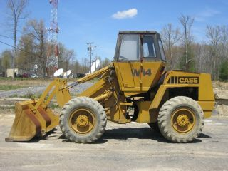 1981 Case W14 Wheel Loader photo