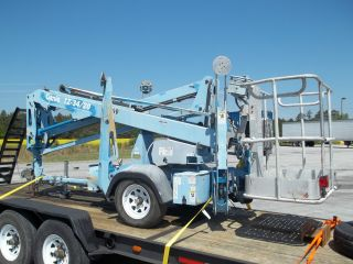Genie Tz34 - 20 Boom Lift,  40 ' Work Height,  18 ' 4