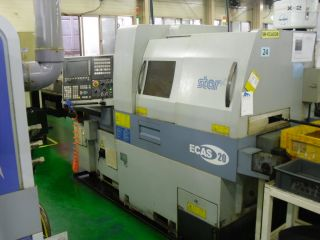 Star Ecas 20 Cnc Swiss Lathe With Bar Feed photo
