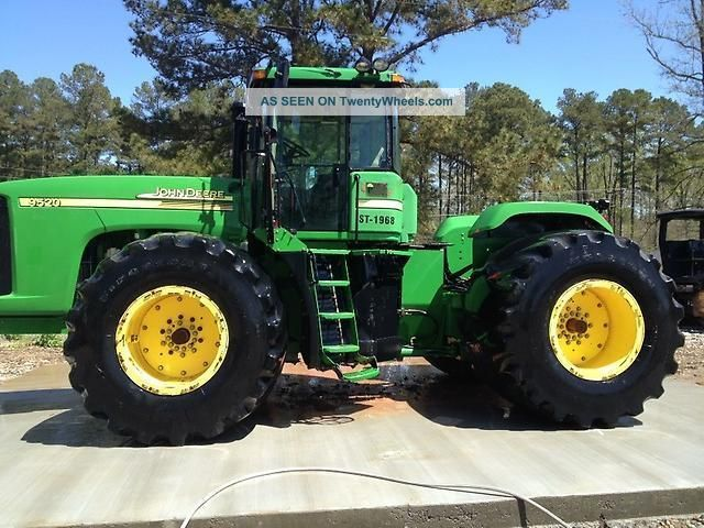 John Deere Mfwd Scraper Special Tractor Lgw