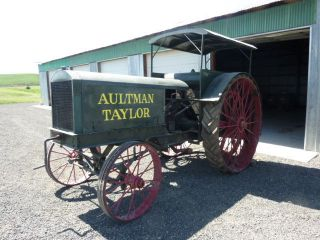 Aultman Taylor 15 - 30 Antique Tractor Rare photo