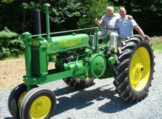 Antique Tractor photo