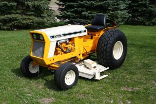 Completely Reconditioned Ih Cub 154 Lo - Boy Tractor With Mod.  3160 60