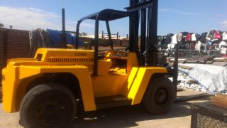 Clark 16,  000 Lb Forklift photo