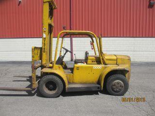 Hyster Forklift,  Challenger 130,  Fork Truck,  Diesel,  Pneumatic,  Auto,  13,  000 photo