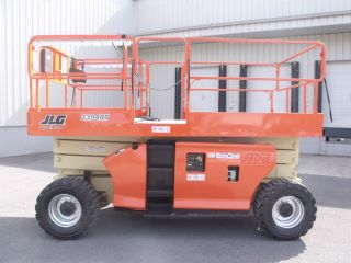 2004 Jlg 3394rt Rough Terrain Scissor Lift Manlift Boom Aerial Man Diesel Engine photo