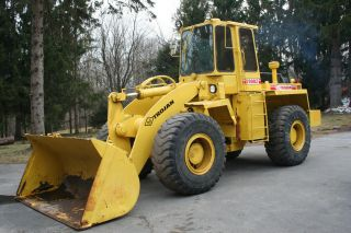 1989 Trojan 2000z Wheel Loader 3yd Bucket photo