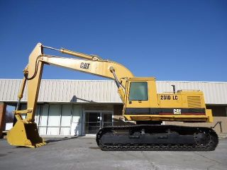 1990 Cat Caterpillar 231d Lc Excavator Track Hoe photo