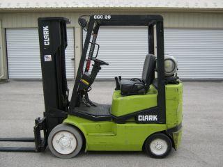 Clark Cgc 20 4000 Forklift,  Tow Motor,  Fork Truck,  Hilo photo
