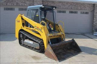 2002 Gehl Ctl60 Skidsteer Loader photo