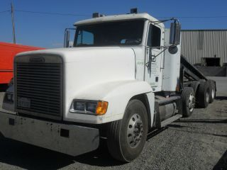 1998 Freightliner Rolloff Truck Roll Off Truck Debris Box Truck Fld120 photo