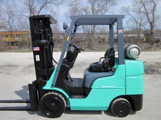 2008 Mitsubishi Fgc30n Propane Forklift Lift Truck Fork Caterpillar Cat photo