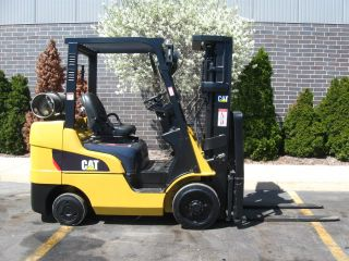 2008 Caterpillar Nissan C6000 Forklift 6000lb Lift Truck photo