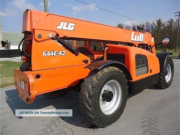 2006 lull 644e - 42 telescopic forklift telehandler genie ... jlg 644e 42 fuel filter
