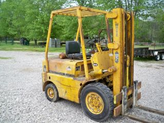 Forklift 5k Lb.  White Fork Lift - photo