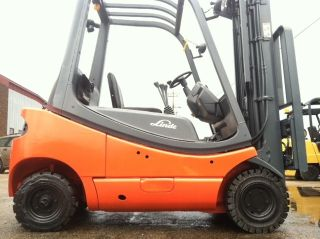2002 Linde Pneumatic 4000 Lb H20ct - 600 - 03 Forklift Lift Truck photo