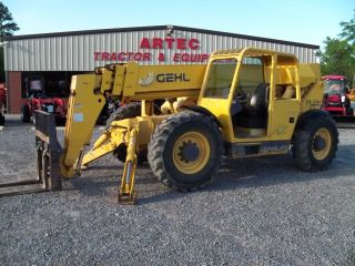 2005 Gehl Dl10h - 55 Telescopic Forklift - Loader Lift Tractor photo