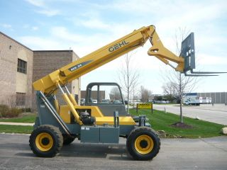 2006 Gehl Rs5 Reach Forklift Telehandler Compact Telescopic Material Handler photo