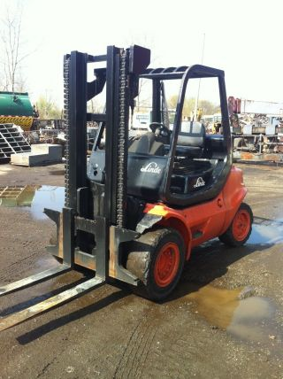 Linde 10,  000lbs.  Forklift photo