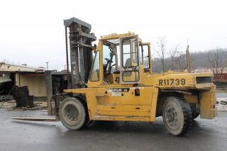 1997 Caterpillar Dp150 33000 Lb Capacity Lift Truck Forklift Two Stage Mast photo