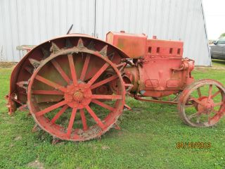 Case Model L Antique Tractor 1930 ' S Vintage Old Farm Equipment 1930 ' S photo
