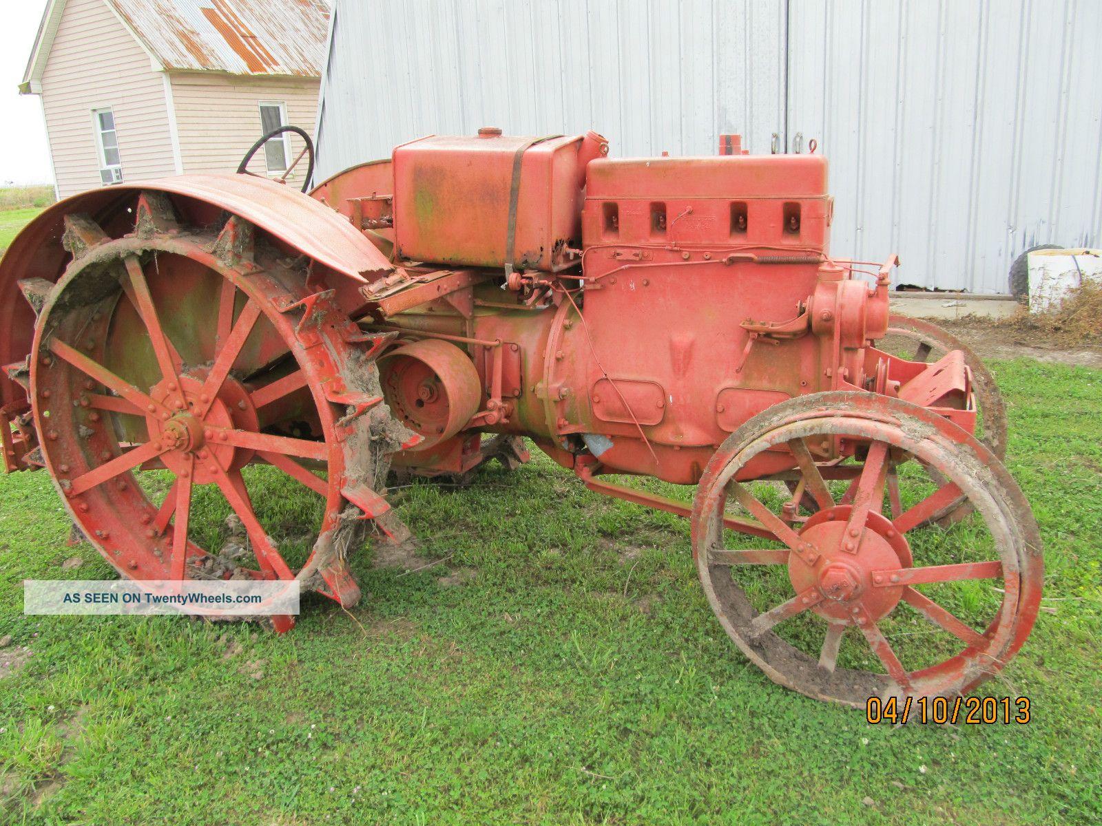 Antique Tractors Equipment : Case model l antique tractor s vintage old farm