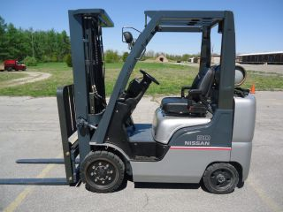 2007 Nissan Mcp1f2a25lv Forklift Fork Truck 5,  000 Lb Platinum Series photo