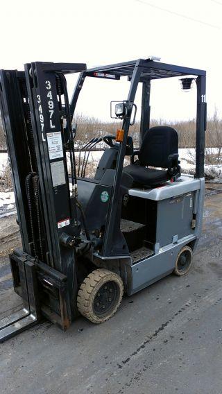 2007 Nissan 3000lb Ac Drive Electric Forklift photo