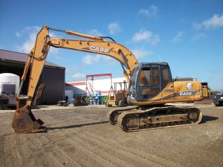 2003 Case Cx160 Excavator 8525hrs Thumb 85% U/c Wholesale Price Trucking Avail photo