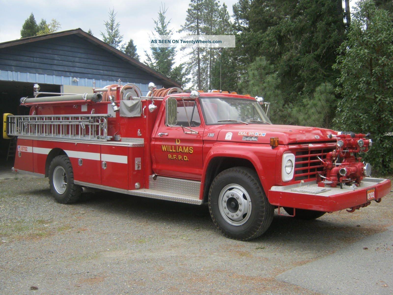 1978 Ford F - 800 Emergency & Fire Trucks photo
