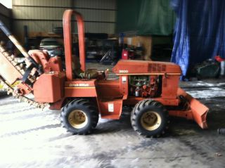 1986 Ditch Witch Model 3500 Trecher Vibra Plow photo
