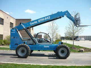 2006 Genie Gth842 Telehandler Terex Th842c Telescopic Forklift Reach Lift photo