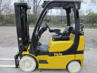 2008 Yale Glc050vx Forklift Lift Truck Hilo 5,  000lbs Hyster photo