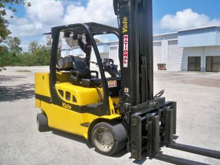 2008 Yale Glc120 Forklift 12,  000 Lb Lift Truck 12000 Lbs / Lpg Propane photo