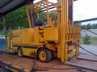 Drexel Swing Mast Electric Forklift,  Narrow Isle photo