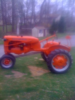 1943 Allis Chalmers C Restored photo