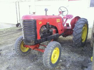 Massey Harris 20 Standard Rare photo