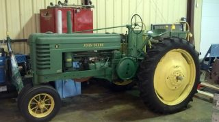 1939 John Deere B Tractor.  With Some Unique Features photo