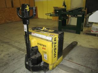 Hyster W40xt Electric Pallet Jack Forklift Lift Truck photo