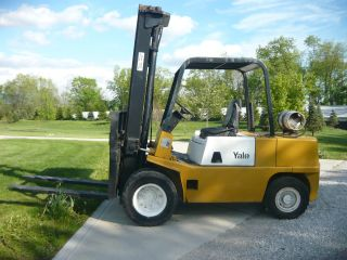 Yale Forklift Gas Propane photo