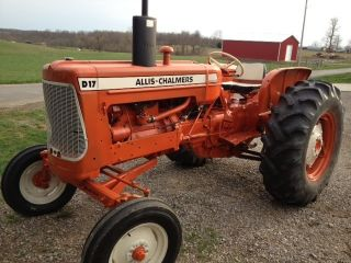 Allis Chalmers D17 Series Iii Tractor Gas Rebuilt photo