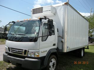 2006 Ford Lcf Thermo King Reefer Lcf 4.  5 Turbodiesel 21 ' Box Fl photo