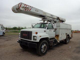 2000 Gmc 8500 Versalift Bucket Boom Truck Diesel photo