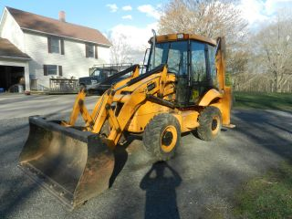 2008 Jcb 2cx12 Backhoe Only 840 Hours photo