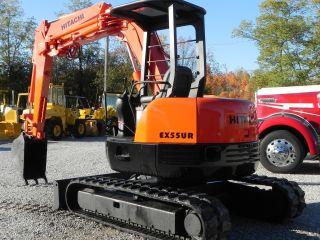 Hitachi Ex55 Ur 2500 Hrs photo