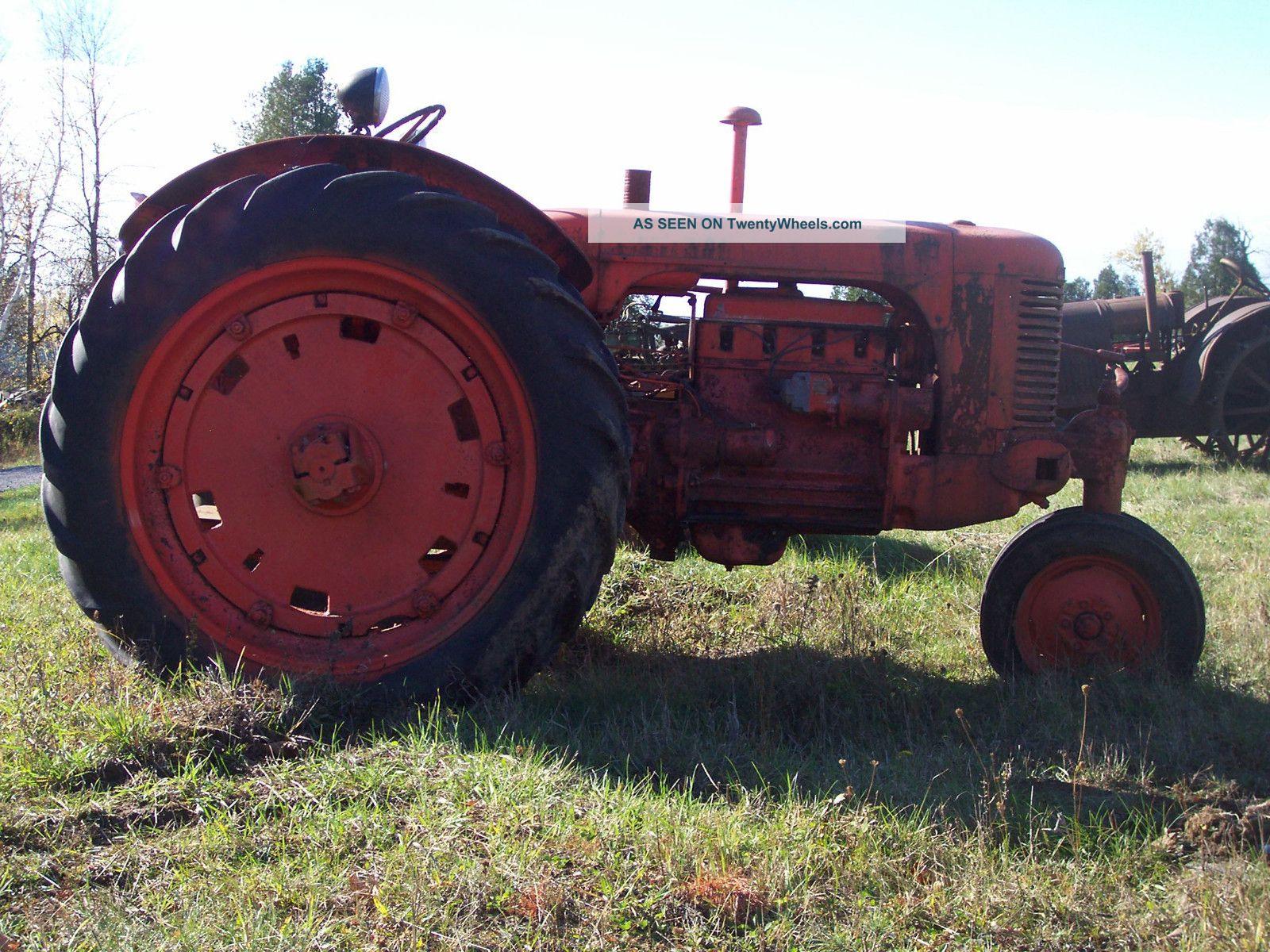 Antique Tractors Equipment : Case sc vintage tractor