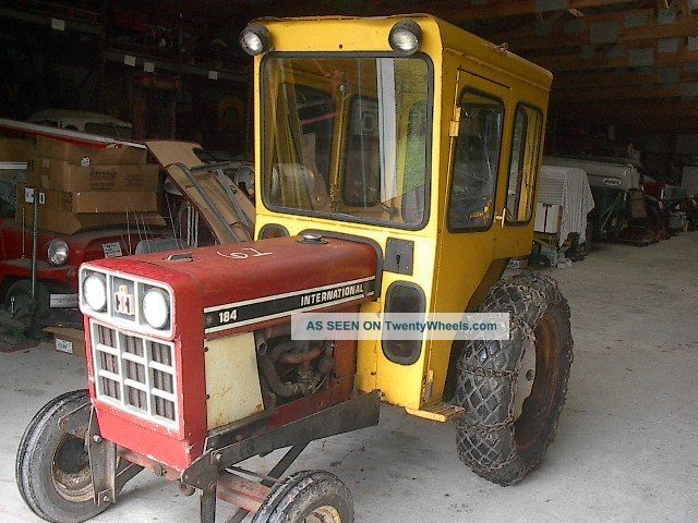 Ih International 184 With 3pt - Creeper Drive - Cab Antique & Vintage Farm Equip photo
